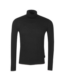 Ted Baker Mens Black Newtrik Fine Gauge Roll Neck Jumper
