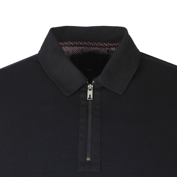 Ted Baker Mens Blue Mytype LS Polo main image