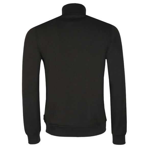 Ted Baker Mens Black Pasport Quilted Funnel Neck main image