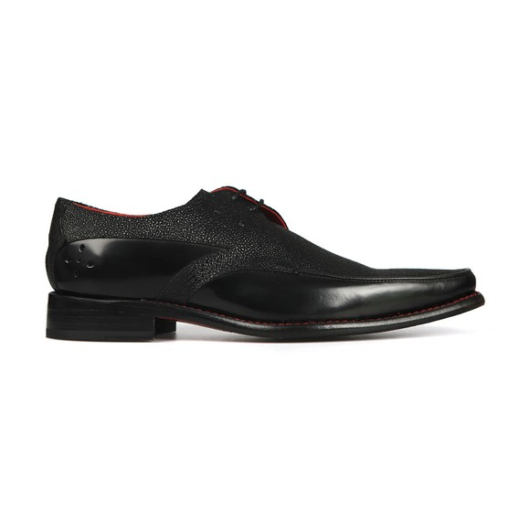 Jeffery West Mens Black Jazzman Melly Shoe