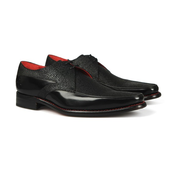 Jeffery West Mens Black Jazzman Melly Shoe main image