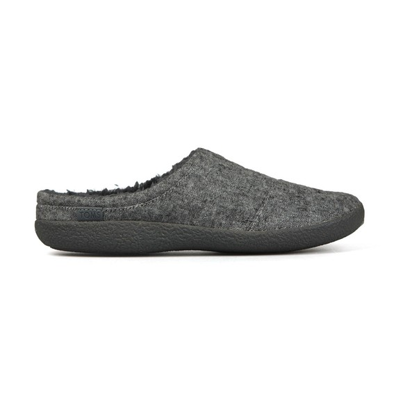 Toms Mens Grey Berkeley Slipper main image