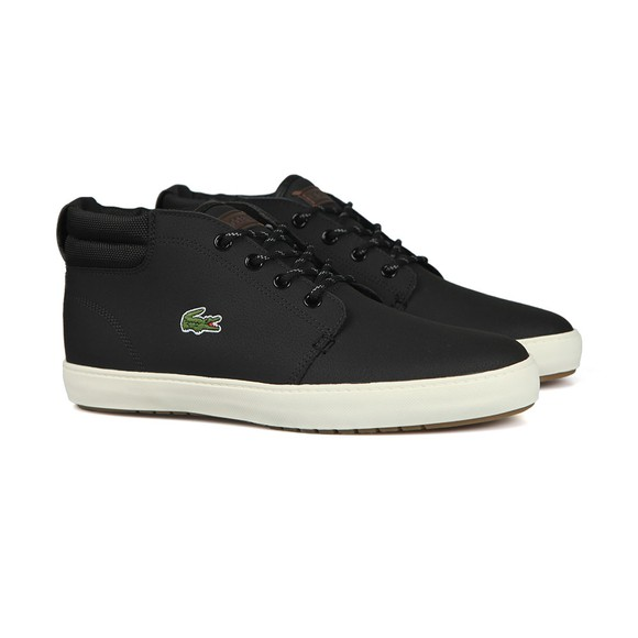 Lacoste Mens Black Ampthill Terra 319 Trainers main image