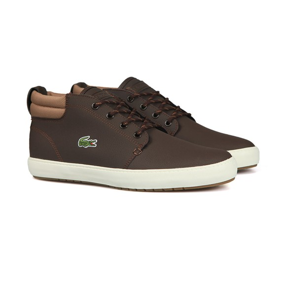 Lacoste Mens Brown Ampthill Terra 319 Trainers main image