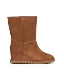 Ugg Womens Brown Classic Femme Short Boot