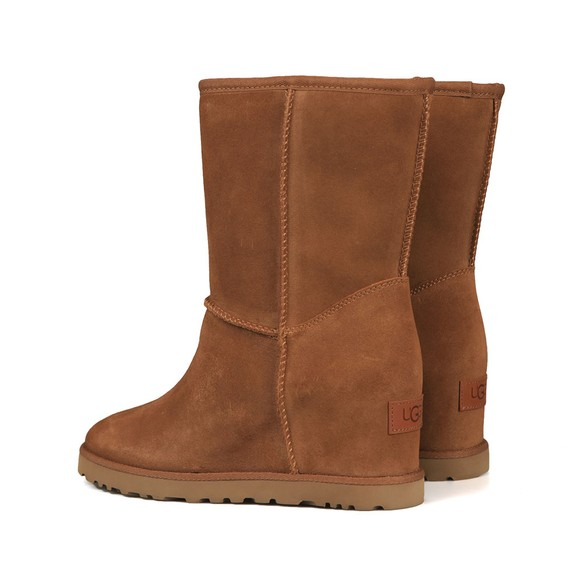 Ugg Womens Brown Classic Femme Short Boot main image
