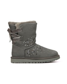 Ugg Womens Grey Classic Galaxy Bling Short Boot