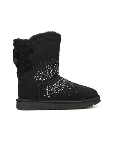 Ugg Womens Black Classic Galaxy Bling Short Boot