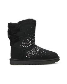 Ugg Womens Black Classic Galaxy Bling Short Boot