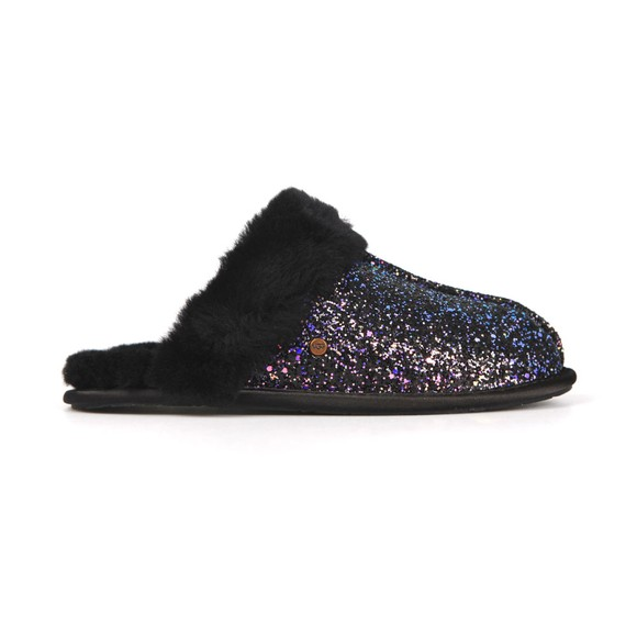 Ugg Womens Black Scuffette II Cosmos Slipper main image
