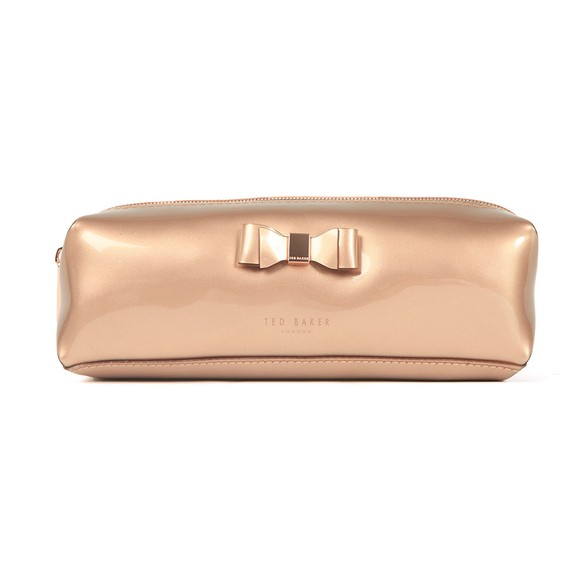 Ted Baker Womens Bronze Blasia Soft Cube Pencil Case main image
