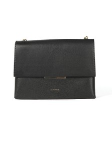 Ted Baker Womens Black Diaana Bar Detail Shoulder Bag