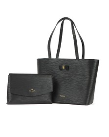 Ted Baker Womens Black Deannah Bow Detail Shopper