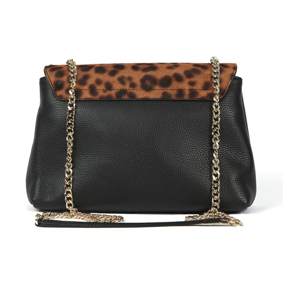 Ted Baker Womens Black Canann Padlock Mini Shoulder Bag main image
