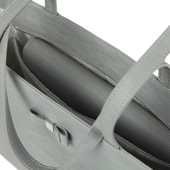 Ted Baker Womens Grey Deannah Bow Detail Shopper main image