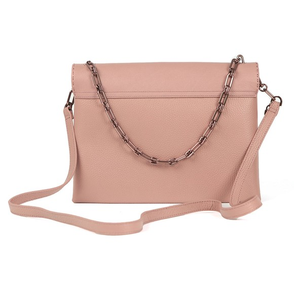 Ted Baker Womens Pink Diaana Bar Detail Shoulder Bag