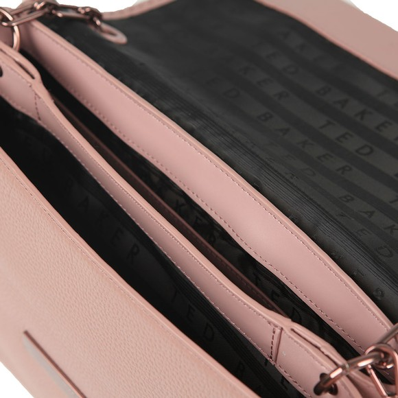 Ted Baker Womens Pink Diaana Bar Detail Shoulder Bag main image