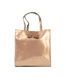 Ted Baker Womens Bronze Sofcon Bow Detail Large Icon Bag