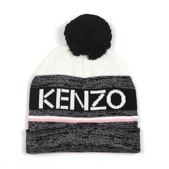 Kenzo Kids Girls Multicoloured Kenzo Sport Line Bobble Hat
