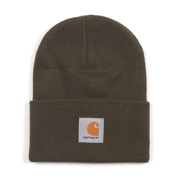 Carhartt WIP Mens Green Carhartt Watch Hat