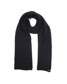 Superdry Womens Blue Heritage Ribbed Scarf