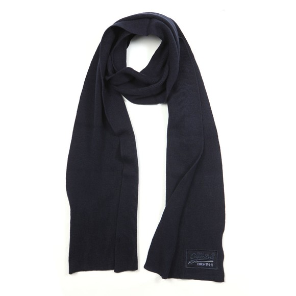 Superdry Mens Blue Orange Label Scarf main image