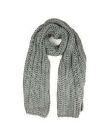 Ugg Womens Grey Chunky Knit Scarf