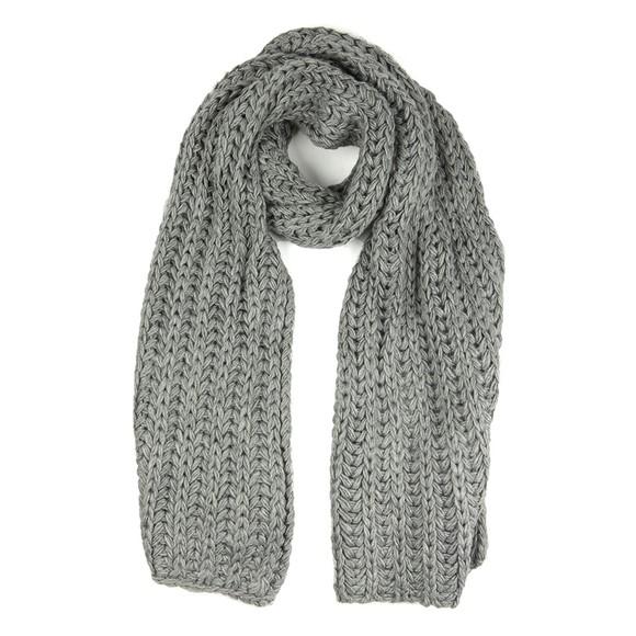 Ugg Womens Grey Chunky Knit Scarf main image