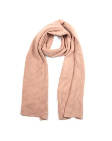 Superdry Womens Brown Heritage Ribbed Scarf