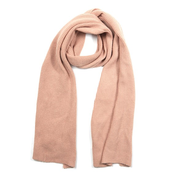 Superdry Womens Brown Heritage Ribbed Scarf main image