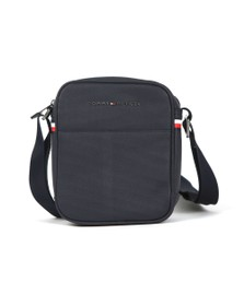 Tommy Hilfiger Mens Blue Essential Pique Mini Bag