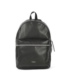 HUGO Mens Black Rocket Backpack