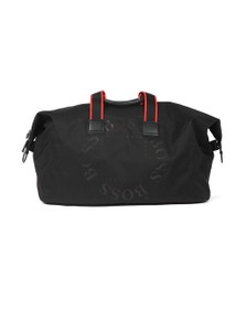BOSS Mens Black Athleisure Pixel RL Holdall