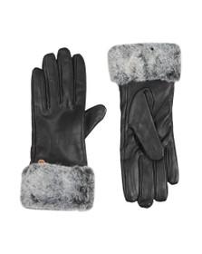 Barbour International Womens Black Kirk Leather Glove