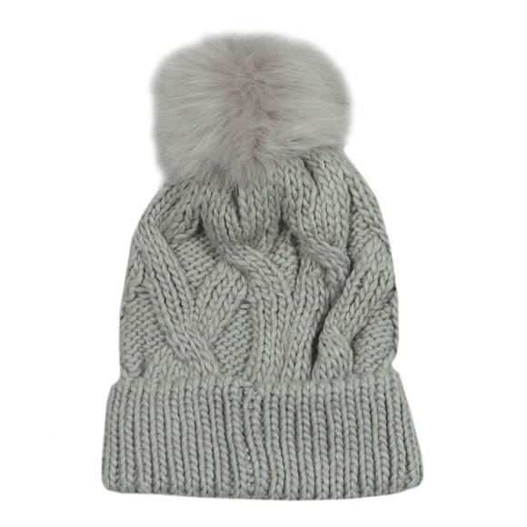 Barbour International Womens Grey Bridport Pom Hat main image