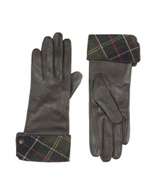 Barbour Heritage Womens Brown Lady Jane Leather Glove