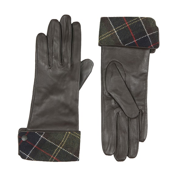 Barbour Heritage Womens Brown Lady Jane Leather Glove main image