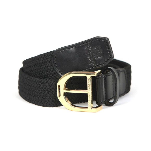 Holland Cooper Womens Black Stirrup Belt