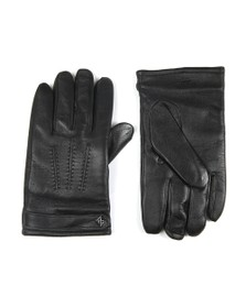 Ted Baker Mens Black Tipps Leather Glove in a Box