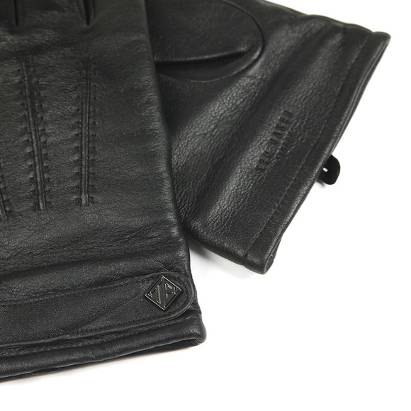 Ted Baker Mens Black Tipps Leather Glove in a Box main image