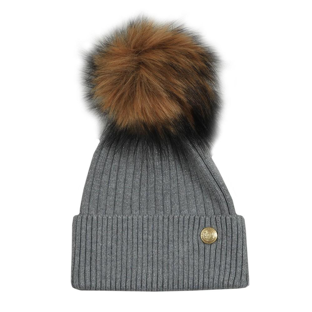 Metallic Bobble Hat main image