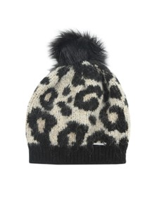 Superdry Womens Brown Lisa Leopard Beanie