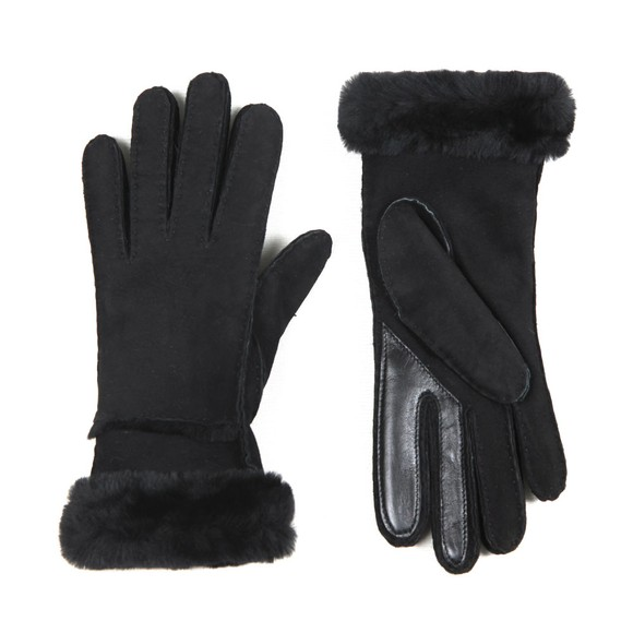 Ugg Womens Black Seamed Tech Glove