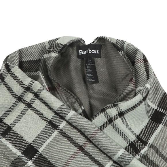 Barbour Lifestyle Womens Grey Lomand Tartan Serape main image