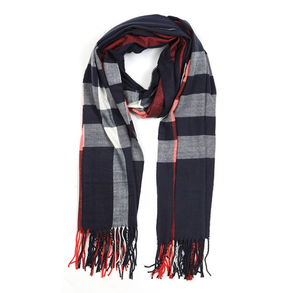 Barbour Lifestyle Womens Blue Skye Check Scarf main image