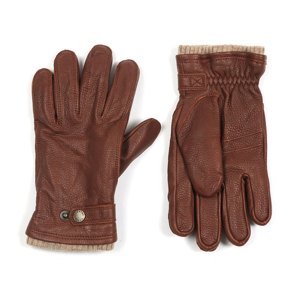 Hestra Mens Brown Utsjo Gloves main image