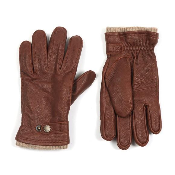Hestra Mens Brown Utsjo Gloves