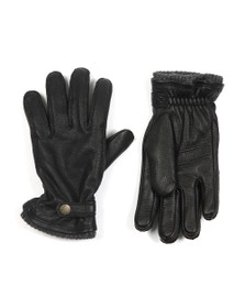 Hestra Mens Black Utsjo Gloves