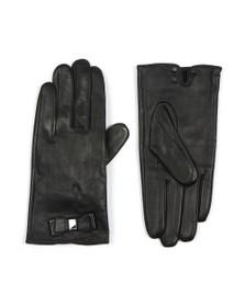 Ted Baker Womens Black Bblake Bow Detail Glove