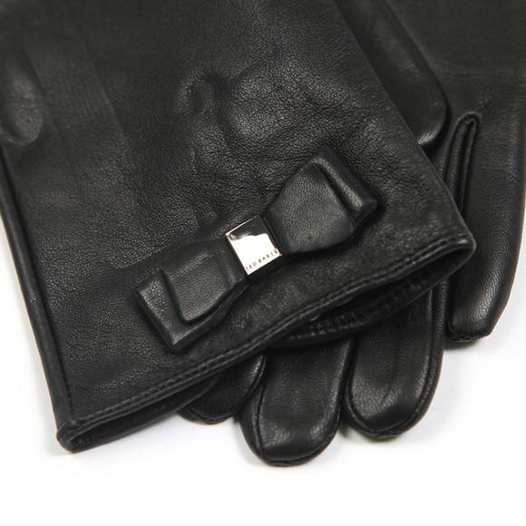 Ted Baker Womens Black Bblake Bow Detail Glove main image